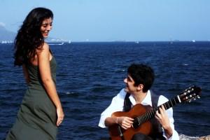 Duo Aline Paes e André Siqueira em 'De Lendas e Barcos'_dia 27 de junho no Teatro Café Pequeno